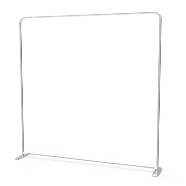 8ft Straight Tension Fabric Display 1