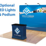 10ft Straight Tension Fabric Display 2