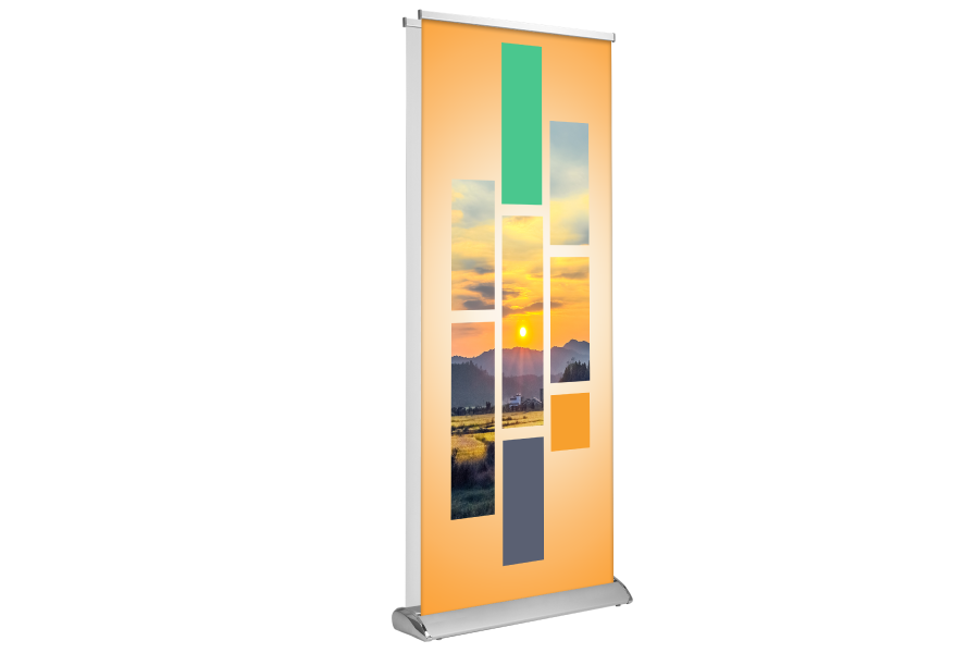 Deluxe Retractable Banner Stand 1