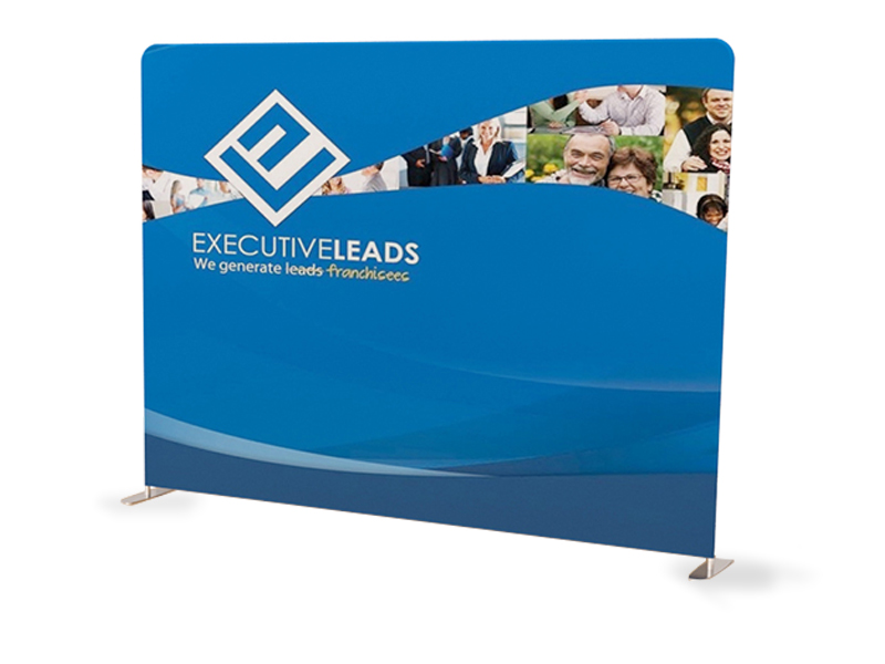 10ft Straight Tension Fabric Display 3