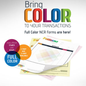 NCR Forms Full Color